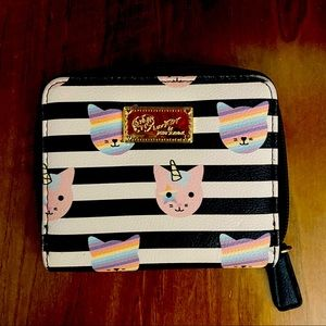Betsey Johnson Square Wallet